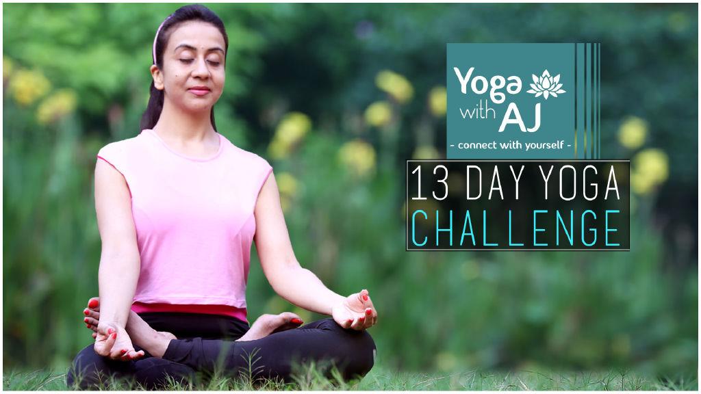 Yoga With AJ: 13 Day Yoga Challenge