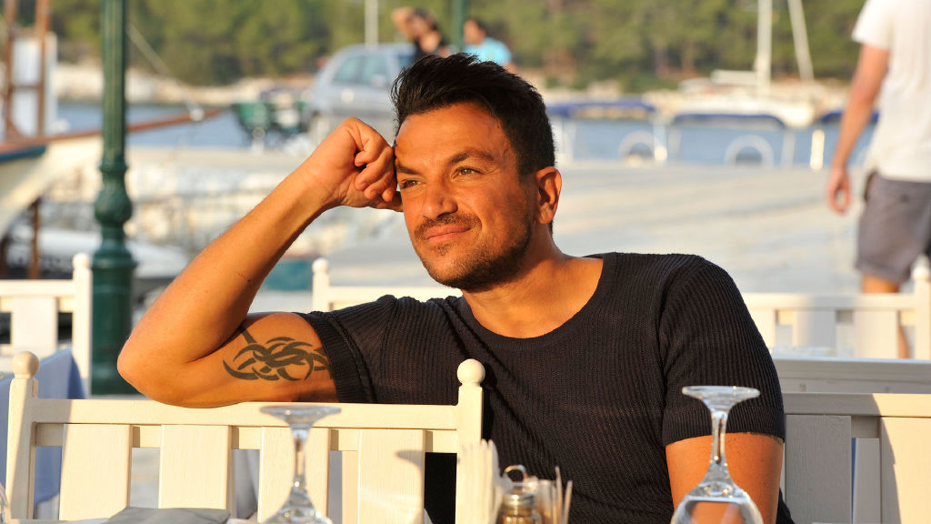 Peter Andre's Greek Odyssey
