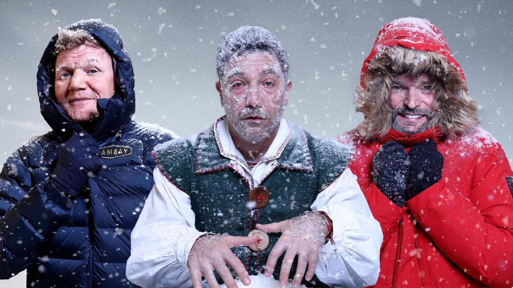 Gordon, Gino and Fred: Desperately Seeking Santa