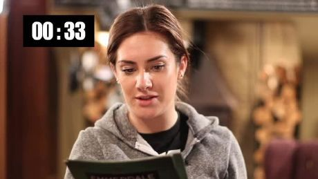 60 seconds on set with Isabel Hodgins